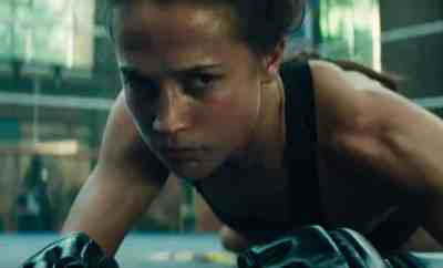 Alicia Vikander - Tomb Raider Review