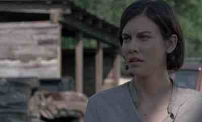 Maggie (Lauren Cohen) in The Walking Dead Season 8