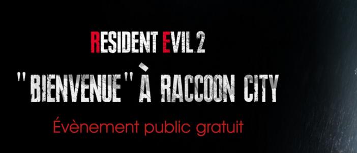 «Bienvenu à Raccoon City», l'animation Capcom à Paris !