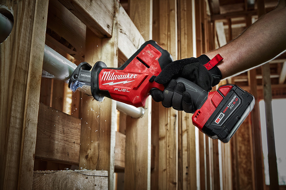 Milwaukee® Develops the First Brushless, 18V One-Handed Reciprocating Saw -  Residential Contractor
