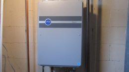 gas boiler heating