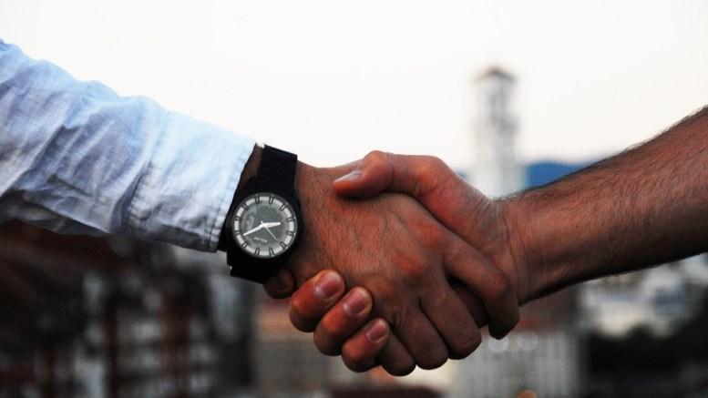 handshake relationship