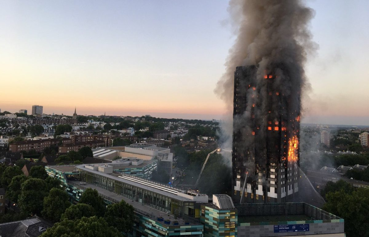 Cause of Grenfell Tower fire