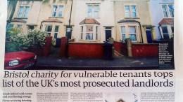 Alternative Housing in the Guardian Newspaper