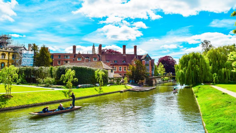 Cambridge Top for Buy to Let Property Rental Demand