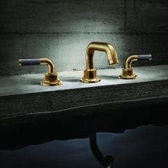Moen Hands Free Kitchen Faucet Padded Chairs California Faucets Debuts Industrial-style Descanso Series ...