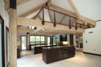 Exposed Engineered Wood Completes Modern Barn House ...