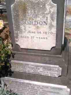 Adam Lindsay Gordon's grave