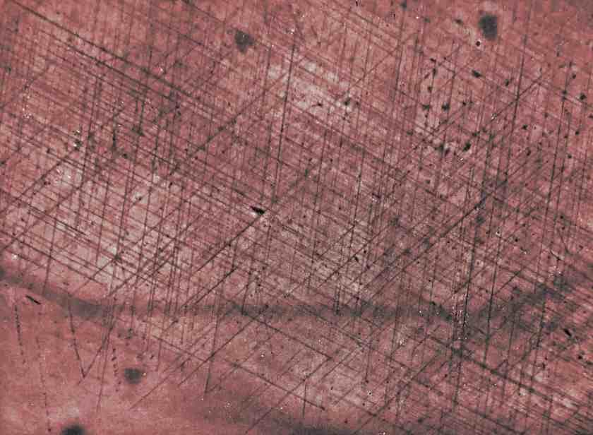 Osservazione microscopio rubino