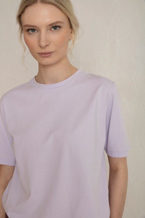 Close up Obi Tee in Purple Heather