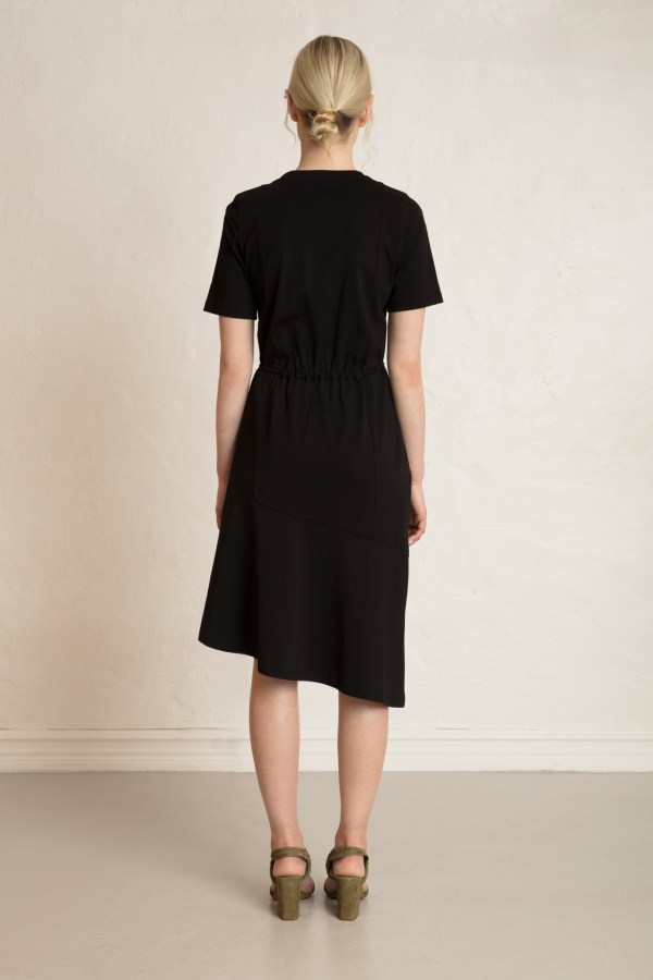 Olivia Organic Cotton Dress from the back