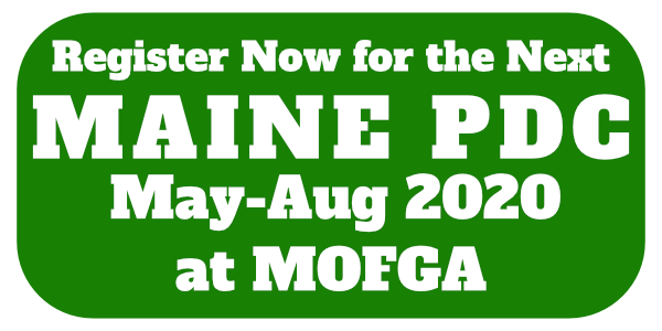 Register for the 2020 Maine PDC