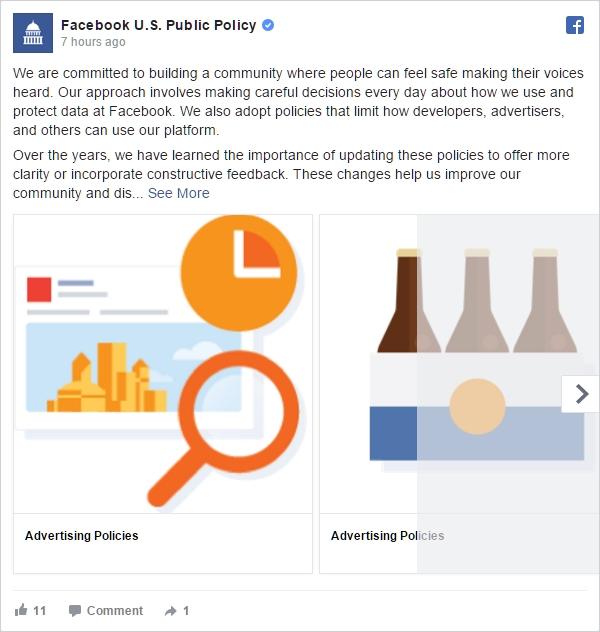 Facebook US Public Policy