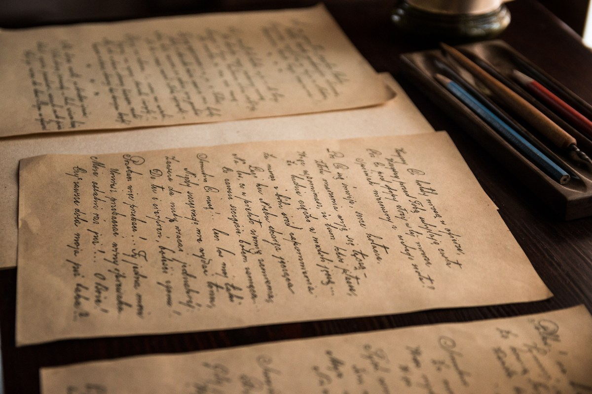 When was the last time you wrote a letter by hand?