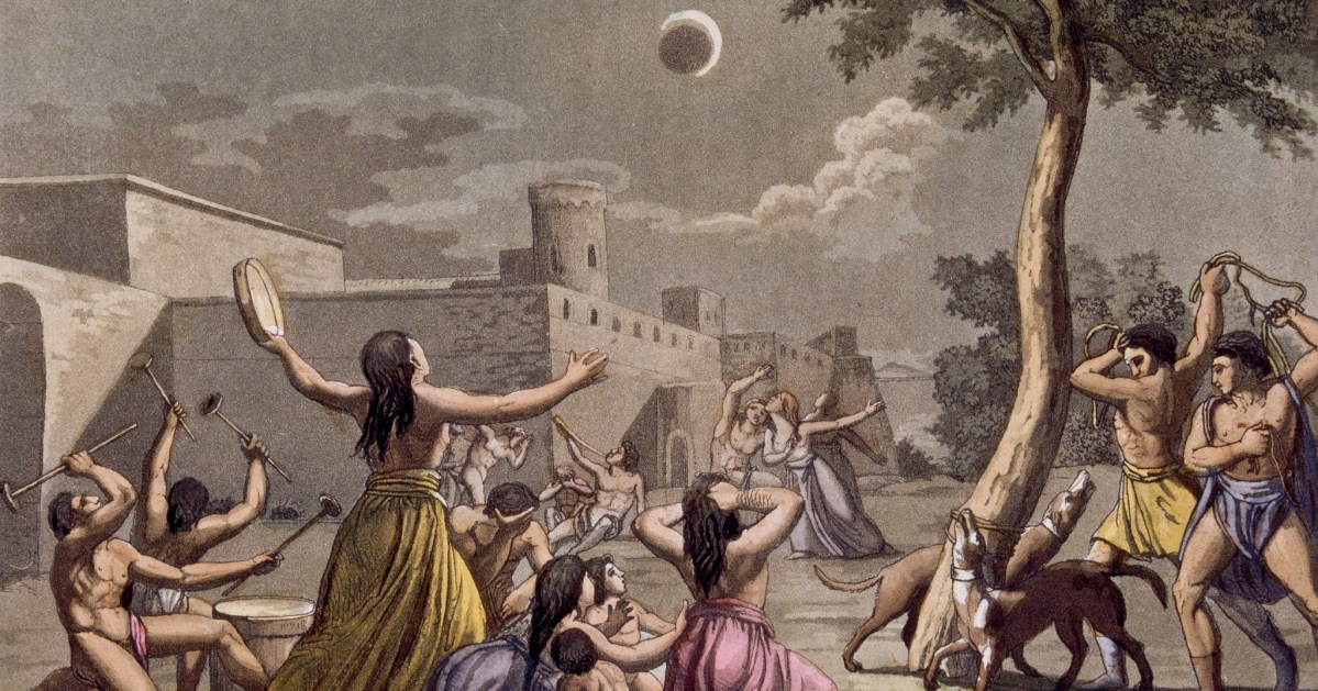 Why do eclipses cause apocalypse fears?