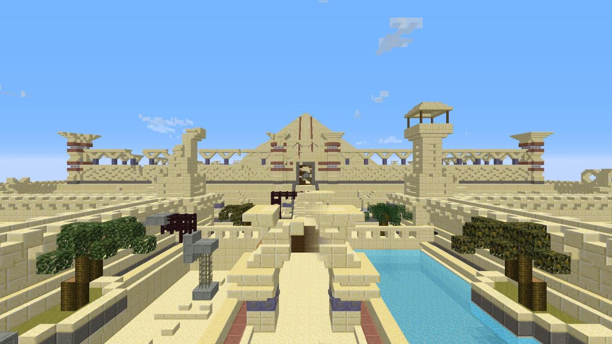 How United Nations use the Minecraft video game to design public spaces in Egypt
