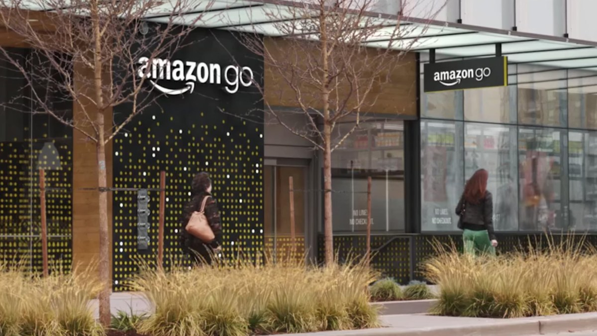 Amazon's automated grocery store of the future opens today