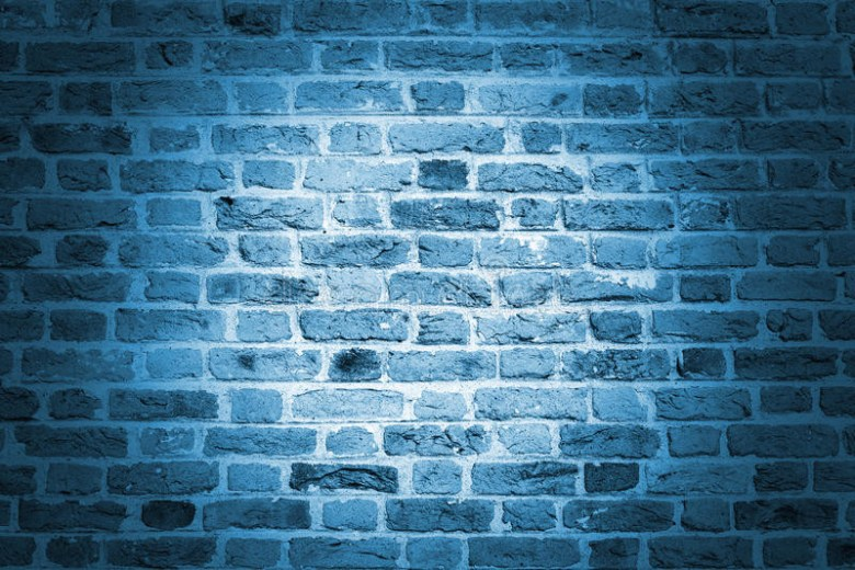 A brick wall of hope