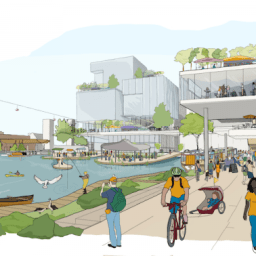 Public realm vision for the Quayside neighbourhood