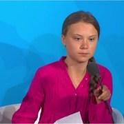 Photo of Greta Thunberg