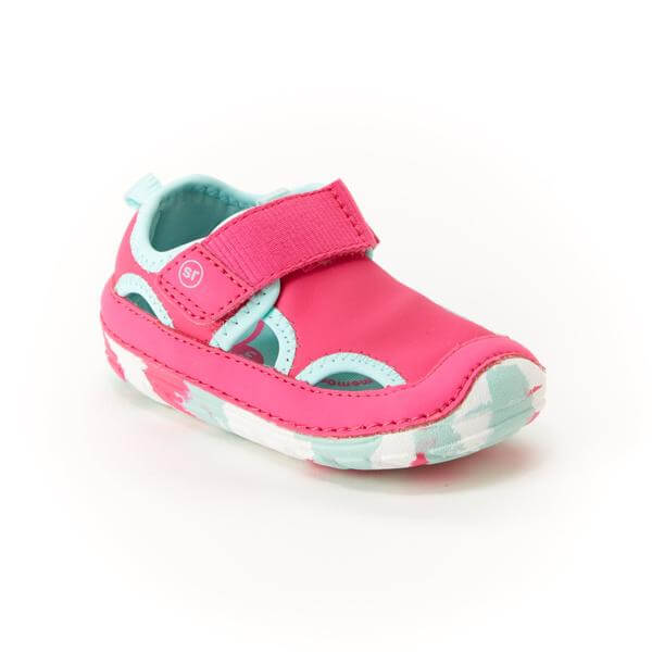 stride rite closed toe sandal