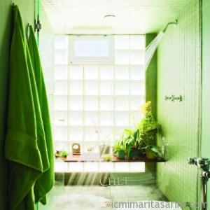 Parlak Ve Renkli Banyo Tasarım Fikirleri (14)
