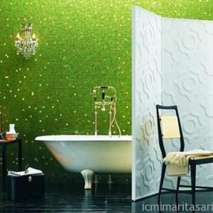 Parlak Ve Renkli Banyo Tasarım Fikirleri (23)
