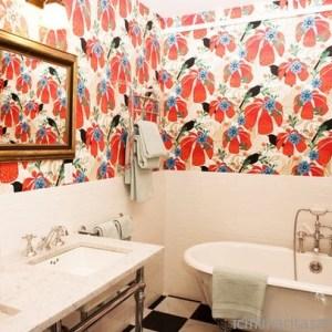Parlak Ve Renkli Banyo Tasarım Fikirleri (3)