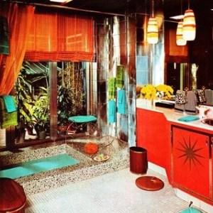 Parlak Ve Renkli Banyo Tasarım Fikirleri (37)