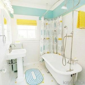 Parlak Ve Renkli Banyo Tasarım Fikirleri (7)