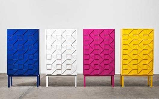 Renkli Büfe ve Konsol Tasarımları