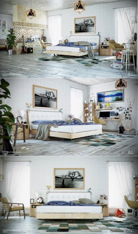 25 Muhteşem Yatak Odası Tasarımları (17)