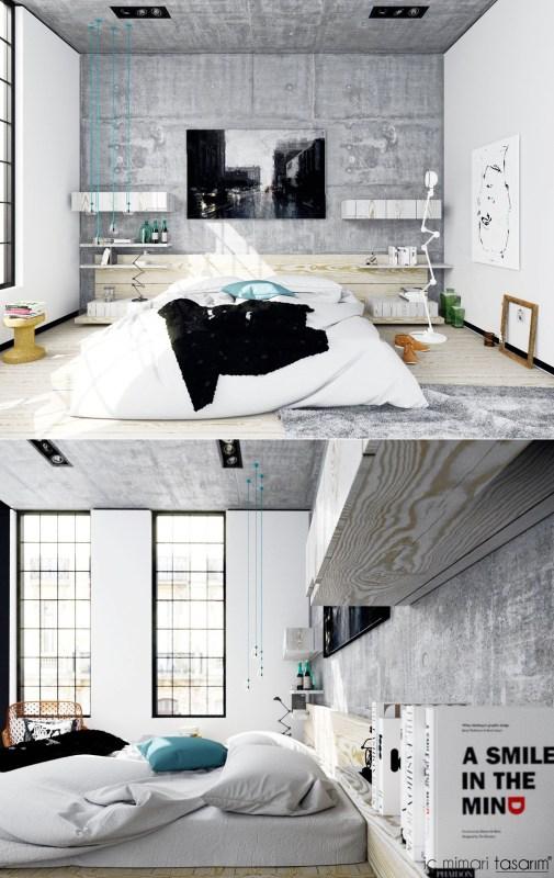 25 Muhteşem Yatak Odası Tasarımları (18)