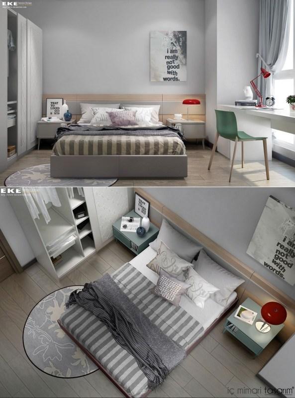 25 Muhteşem Yatak Odası Tasarımları (5)