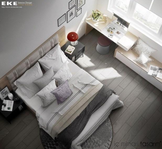 25 Muhteşem Yatak Odası Tasarımları (9)