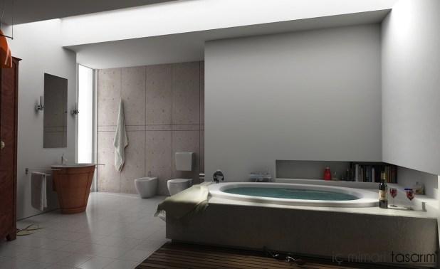 Banyoları Doğayla Buluşturan Tasarımlar (21)