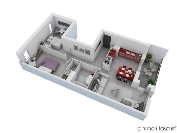 2-YATAK-ODALI-3D-MAX-DAİRE-KAT-PLANLARI (3)