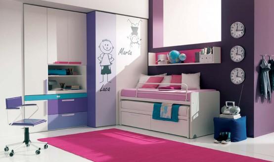 Mükemmel bir T Şekli Kız Odası için İpuçları (4)