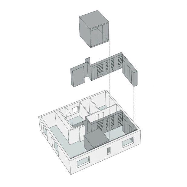 İtalyan Stili Beyaz Moder Ev Tasarımıları (11)