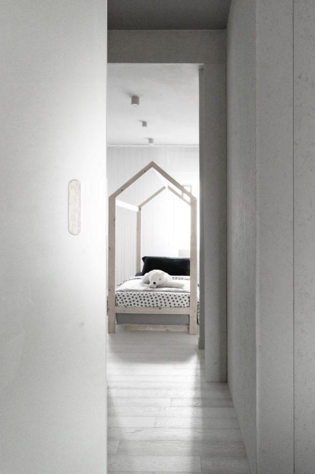 İtalyan Stili Beyaz Moder Ev Tasarımıları (19)