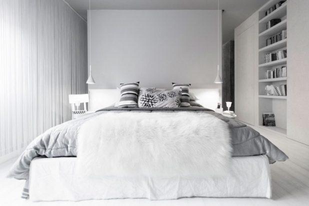 İtalyan Stili Beyaz Moder Ev Tasarımıları (21)