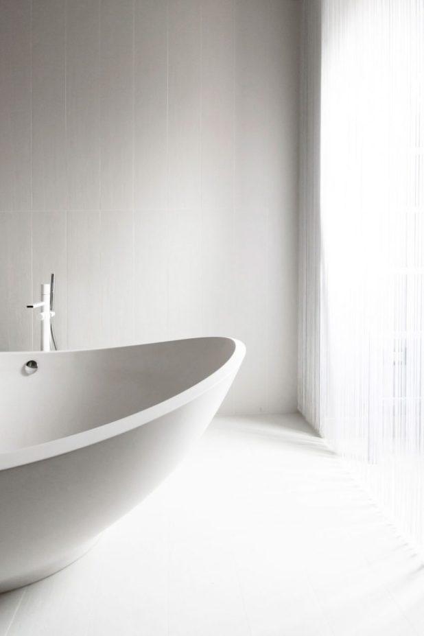 İtalyan Stili Beyaz Moder Ev Tasarımıları (5)