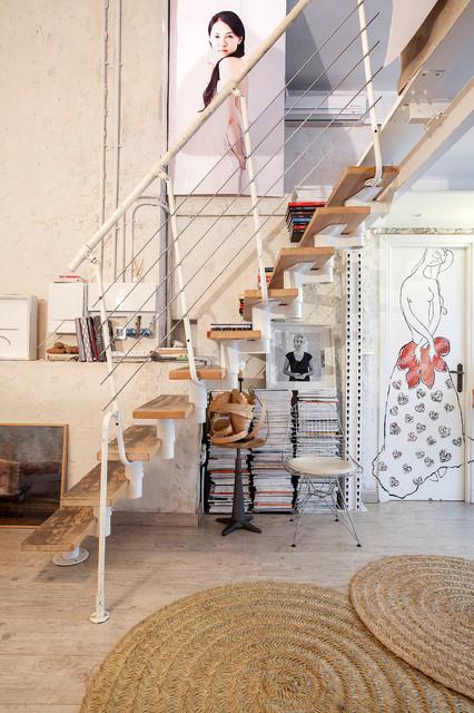 Merdivenleri Canlandıran Sıradışı Eklektik Tasarımlar (3)