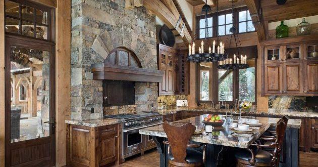 İlham Veren 15 Rustik Mutfak Tasarımları (11)