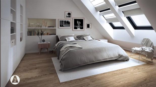 En Şık Çatı Katı Tasarımları (1)