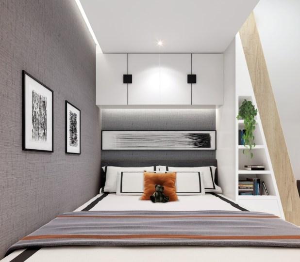 Yüksek Tavanlı Küçük Evlerde Ferahlık Veren İç Dekorasyon (5)