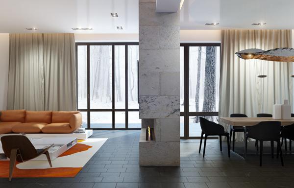 sicak-renk-vurgulu-cool-ev-tasarimlari-24