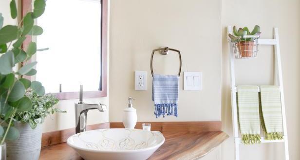 Küçük Banyolar için 10 Boya Rengi Fikirleri