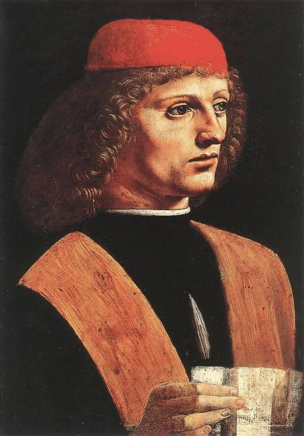 Leonardo Da Vinci Nin Portrait Of Musician Eseri Resim Biterken