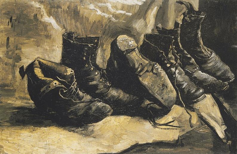 Vincent Van Gogh'un Ayakkabılar Serisi (4/4)